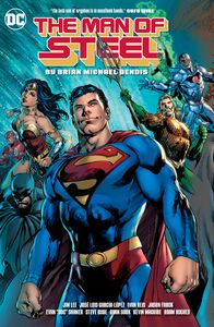 [Man Of Steel: By Brian Michael Bendis (Hardcover) (Product Image)]