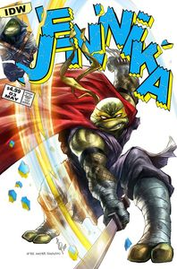 [Teenage Mutant Ninja Turtles: Jennika #3 (Forbidden Planet Exclusive Alan Quah Variant) (Product Image)]