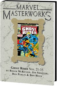 [Marvel Masterworks: Ghost Rider: Volume 3 (DM Variant Edition 313 Hardcover) (Product Image)]