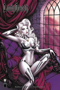 [Lady Death: Blasphemy Anthem #1 (Premium Foil Rich Cover) (Product Image)]