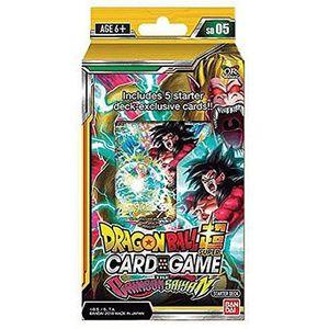 [Dragon Ball Super: Card Game: Starter Deck: The Crimson Saiyan (Product Image)]