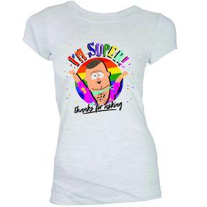[South Park: Women's Fit T-Shirt: I'm Super (Product Image)]