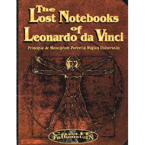 [Castle Falkenstein: RPG: Notebooks Of Leonardo Davinci (Product Image)]