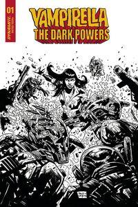 [Vampirella: Dark Powers #1 (Davidson Black & White Variant) (Product Image)]