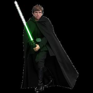 [Star Wars: The Mandalorian: Hot Toys Action Figure: Luke Skywalker (Product Image)]
