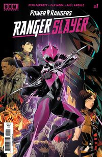 [The cover for Power Rangers: Ranger Slayer #1 (Cover A Main)]