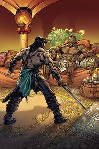 [Cimmerian: Man-Eaters Of Zamboula #2 (Cover G Meli Virgin Variant) (Product Image)]