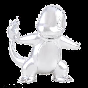 [Pokemon: 25th Celebration: Silver Charmander (Product Image)]