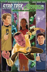 [Star Trek/Green Lantern: Volume 2 #5 (Subscription Variant) (Product Image)]
