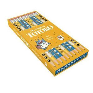 [My Neighbour Totoro: Graphite Pencils (Pack Of 10) (Product Image)]