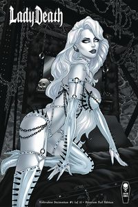 [Lady Death: Malevolent Decimation #1 (Premium Foil Cover) (Product Image)]