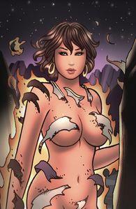 [Wayward Legends #4 (Cover C Pratt Virgin Metallic Ink) (Product Image)]