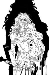 [Invincible Red Sonja #2 (Conner Line Art Virgin Variant) (Product Image)]
