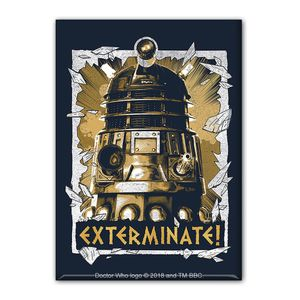 [Doctor Who: Magnet: Daleks Exterminate (Product Image)]