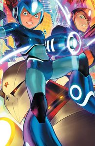 [Mega Man: Fully Charged #4 (Cover C Mora Variant) (Product Image)]
