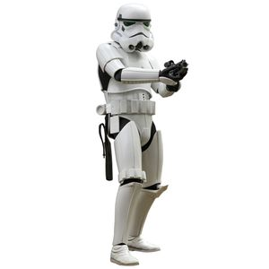 [Star Wars: Hot Toys Movie Masterpiece Action Figure: Stormtrooper (Product Image)]