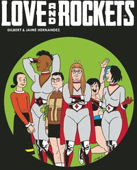 [The cover for Love & Rockets Magazine #7]
