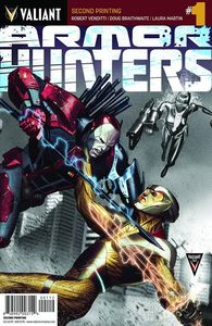 [Armor Hunters #1 (2nd Printing) (Product Image)]
