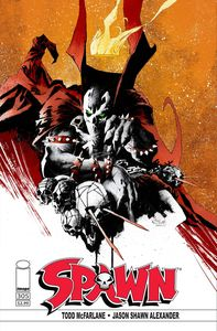[Spawn #305 (Cover D Alexander) (Product Image)]