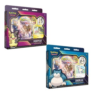 [Pokemon: Card Game: Snorlax & Morpeko: Pin Collection (Product Image)]