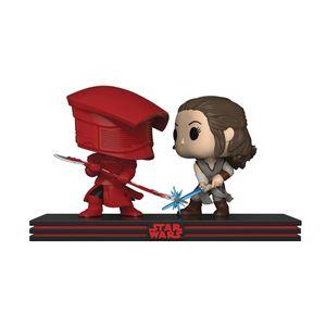 [Star Wars: The Last Jedi: Pop! Vinyl Movie Moments Set: Rey & Praetorian Guard (Product Image)]