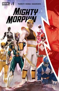 [The cover for Mighty Morphin #1 (Cover A Lee)]