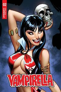 [Vampirella #2 (Campbell Sneak Peek Variant) (Product Image)]