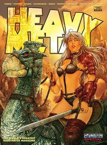 [Heavy Metal #298 (Cover A Escorza & Villas) (Product Image)]