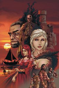 [George R.R. Martin's A Clash Of Kings #4 (Rubi Virgin Variant) (Product Image)]