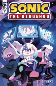 [Sonic The Hedgehog #42 (Fourdraine Variant) (Product Image)]