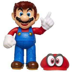 [World Of Nintendo: Action Figure: Odyssey Mario With Cappy (Product Image)]