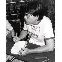 [Stephen King signing Christine (Product Image)]