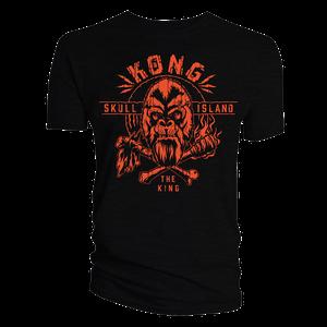 [Godzilla Vs Kong: T-Shirt: King Kong Skull Island (Product Image)]