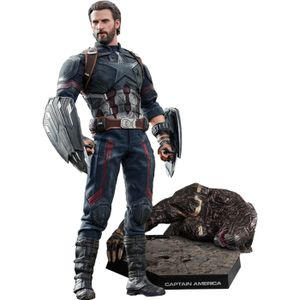 [Avengers: Infinity War: Hot Toys Action Figure: Captain America (Movie Promo Edition) (Product Image)]