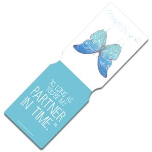 [Life Is Strange: Travel Pass Holder: Butterfly By Emma Vieceli (Product Image)]