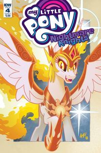 [My Little Pony: Nightmare Knights #4 (Cover A Fleecs) (Product Image)]