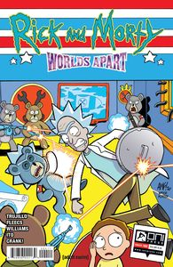 [Rick & Morty: Worlds Apart #4 (Cover A Fleecs) (Product Image)]
