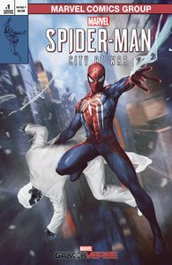 [Spider-Man: City At War #1 (Forbidden Planet Exclusive Skan Variant) (Product Image)]