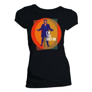 [Doctor Who: Women's Cut T-Shirt: Ruth I'm The Doctor (Web Exclusive) (Product Image)]