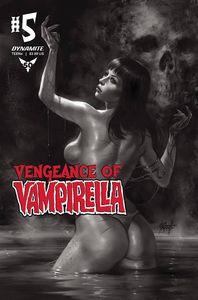 [Vengeance Of Vampirella #5 (Parrillo Black & White Variant) (Product Image)]