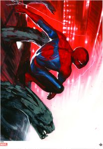 [Marvel Comics: Giclee Print: Spider-Man By Gabriele Dell'Otto (Amazing Spider-Man #24) (Product Image)]