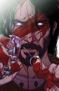 [BRZRKR (Berzerker) #3 (Cover J Frison Bloody Foil Variant) (Product Image)]