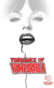 [Vengeance Of Vampirella #16 (Oliver B&W Variant) (Product Image)]