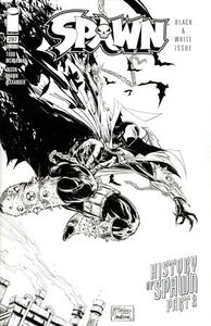 [Spawn #297 (Cover C Black & White Variant Mcfarlane & Mattina) (Product Image)]