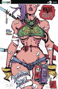 [Ninjas & Robots #9 (Cover A Erik Klaus) (Product Image)]
