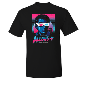 [Doctor Who: T-Shirt: 80s Allons-y! (Product Image)]