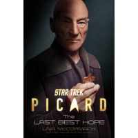 [Una McCormack signing Picard: The Last Best Hope in Cambridge (Product Image)]