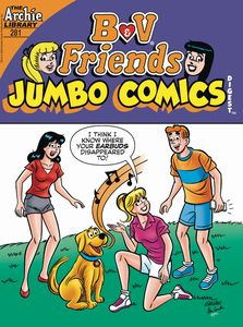 [B & V Friends: Jumbo Comics Digest #281 (Product Image)]
