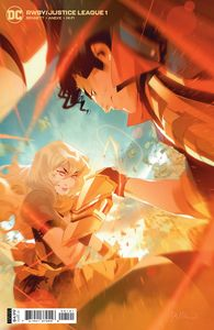 [RWBY/Justice League #1 (Cover B Simone Di Meo Card Stock Variant) (Product Image)]