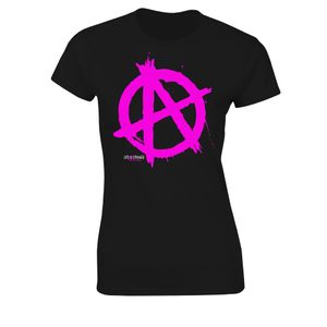 [Life Is Strange: Before The Storm: Women's Fit T-Shirt: Anarchy Symbol (Product Image)]